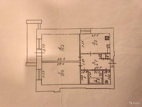 Квартира, ул. Пугачева, д.3 к.А - Фото 1