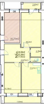 Продается двухкомнатная квартира в новом доме на Красина 46! - Фото 2