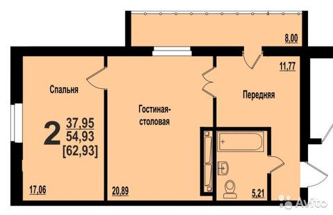 Квартира, ул. Братьев Кашириных, д.119 - Фото 2