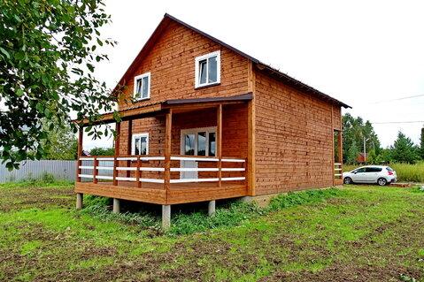Продается новый дом в деревне, жилая улица, рядом река, лес, родник. - Фото 1