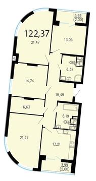 Продам 4к. квартиру. Жукова ул. к.2.2