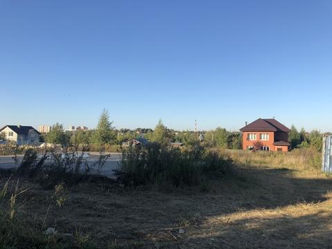 Участок, 7,5 соток, в черте города. г. Чехов, Ул. лосиная - Фото 1