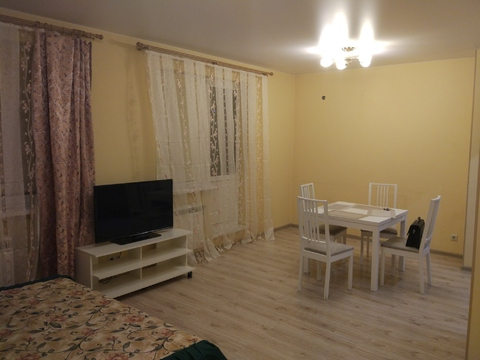 Продам отличную 1-комнатную квартиру м. Преображенская площадь - Фото 1