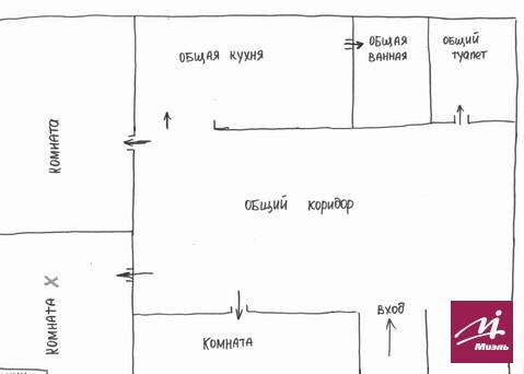 Продается комната в 3 ком кв ул 95 Гвардейская 5 - Фото 2