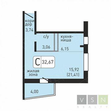 1 911 195 Руб., Продается квартира г.Ивантеевка, Хлебозаводская, Купить квартиру в Ивантеевке по недорогой цене, ID объекта - 320827323 - Фото 1