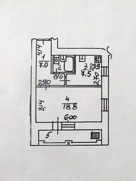 Продается квартира, Климовск, 40м2 - Фото 1
