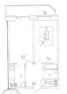 2-х комнатная квартира продается - Фото 1