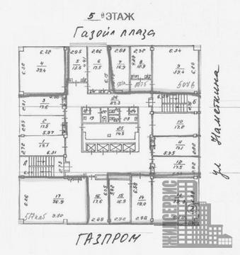 Офисный блок (3 кабинета) 75,7м на Намёткина, юрадрес, метро - Фото 5