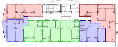 Продажа однокомнатная квартира 60.91м2 в ЖК Изумрудный секция а - Фото 2