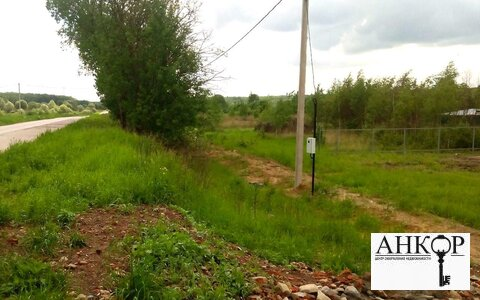 Участок 12 соток 3 км от пгт Оболенск Симферопольское шоссе 90 км - Фото 3