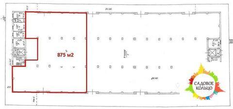 Предлагаем в аренду холодное складское помещение общей площадью 875 кв - Фото 1