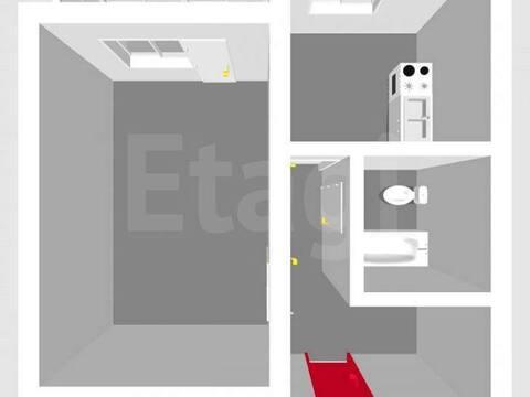 Продажа однокомнатной квартиры на Вокзальной улице, 28 в Стерлитамаке, Купить квартиру в Стерлитамаке по недорогой цене, ID объекта - 320177939 - Фото 1