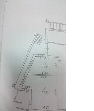 Нежилое помещение, с тремя отдельными входами, 1 этаж, 68 кв.м - Фото 1