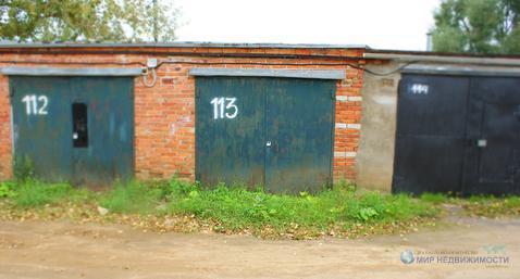 Капитальный кирпичный гараж в городе Волоколамске на ул. Колхозная - Фото 3