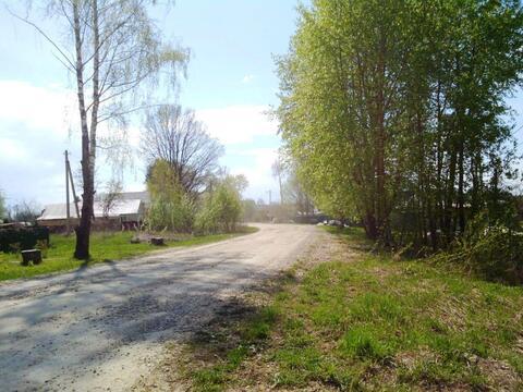 Участок 25 соток в деревне с видом на поле и лес рядом с гор. Можайск. - Фото 2