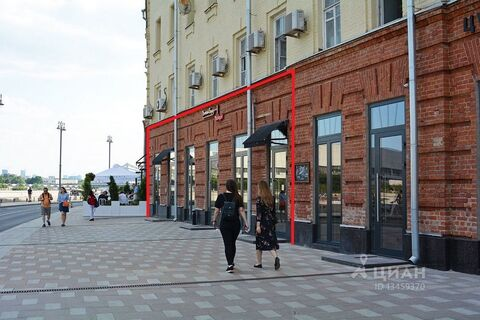 Помещение свободного назначения в Москва Пречистенская наб, 15с1 . - Фото 1