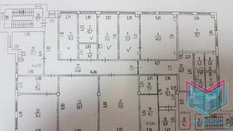 32 кв.м. Офис в два смежных кабинета - Фото 5