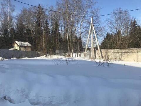 Участок 6 сот. , Минское ш, 35 км. от МКАД. поселок Петелино - Фото 1