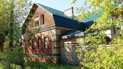 Новый кирпичный двухэтажный дом-коттедж на Волге в г. Плес - Фото 1
