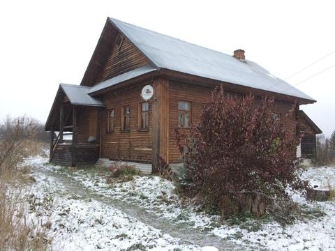 Продаю уникальный деревянный дом на берегу реки Ветлуга - Фото 1