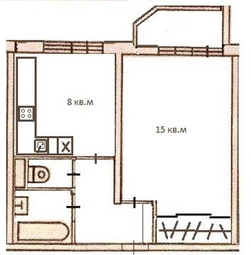 Продается 1-комнатная квартира с панорамным видом на вднх - Фото 4