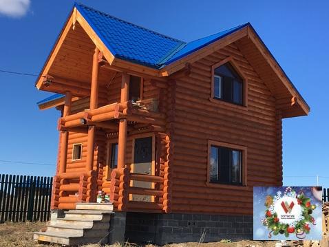 Продается дом-баня рядом с красивым озером в кп - Фото 1