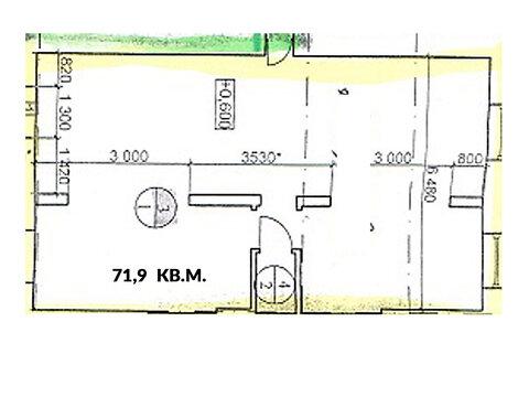 Сдаётся помещение пл. 71,9 кв.м. на оживлённом пр. Бусыгина, д. 42. - Фото 4