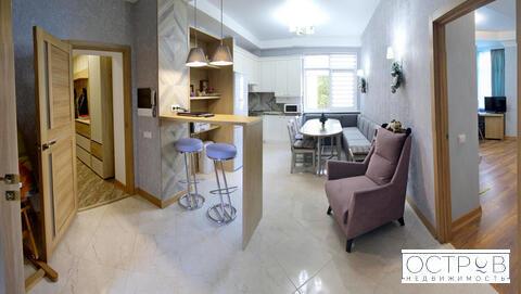 Просторная 2к квартира с отделкой в клубном доме в центре Ялты - Фото 1