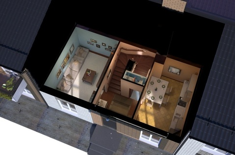 Продаётся таунхауc 75 кв.м. на участке 1 сот - Фото 3