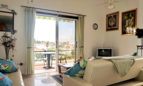 Отличная полу-отдельная двухкомнатная квартира в пригороде Пафоса - Фото 4