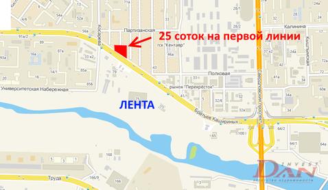 Земельные участки, ул. Братьев Кашириных, д.54 - Фото 1