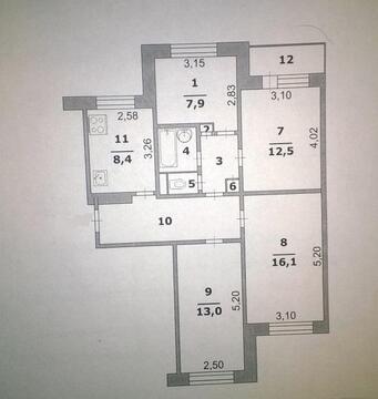 Продажа квартиры, Белгород, Ул. 60 лет Октября - Фото 3