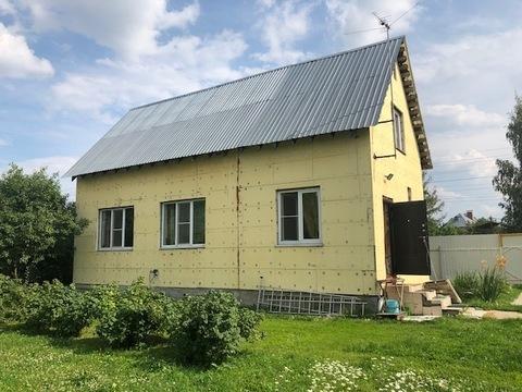 Жилой дом с газом, пос. Столбовая, Чеховский район - Фото 2
