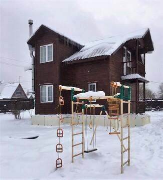 Дом с Баней, 17 соток, Прописка, Газ, д.Дарьино - Фото 1