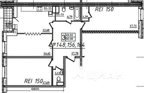 Продаю3комнатнуюквартиру, Назрань, Московская улица, 28, Купить квартиру в Назрани по недорогой цене, ID объекта - 323071451 - Фото 1