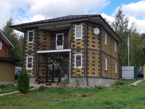 Алексеевка д, городской округ Чехов, дом 165 кв м. с газом. - Фото 1