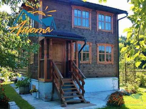 Бревенчатый дачный дом около Обнинска. - Фото 3