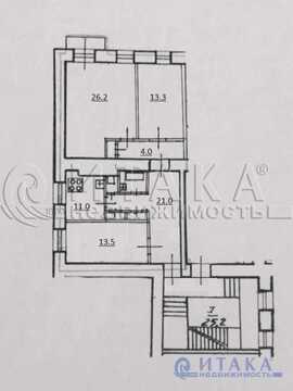 Продажа квартиры, м. Сенная площадь, Реки Мойки наб. - Фото 4
