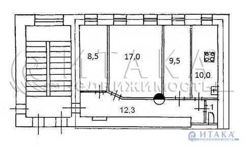 Продажа квартиры, м. Сенная площадь, Ул. Мясная - Фото 1