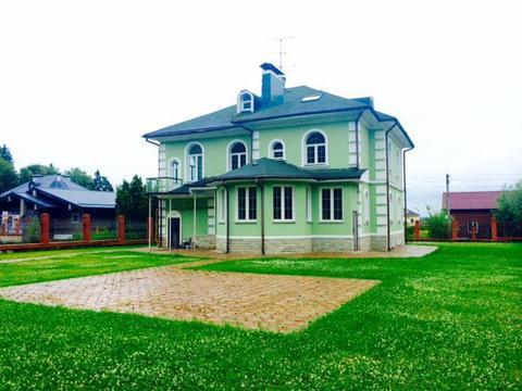 Дом с отделкой у леса. 480 кв.м. уч.15 сот.Минское ш. 17км.