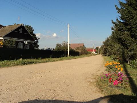 Участок на берегу озера, 15 соток, д. Сивково, 100 км от МКАД, МО. - Фото 3