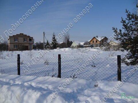 Новорязанское ш. 25 км от МКАД, Еганово, Участок 12 сот. - Фото 1
