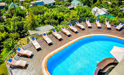 Шикарная вилла-гостиница с панорамным видом на море - Фото 2