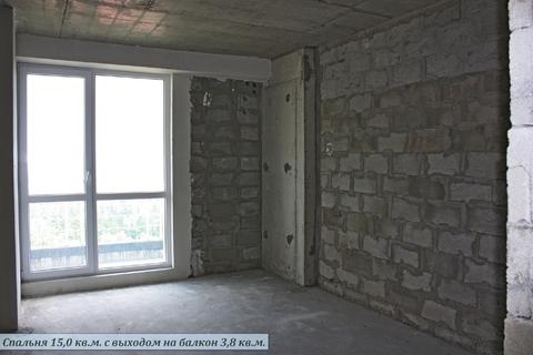 Продажа видовой 3-комнатной квартиры в Алуште. - Фото 5