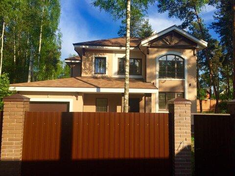 Новый коттедж 260 кв м п. Малаховка ПМЖ - Фото 1
