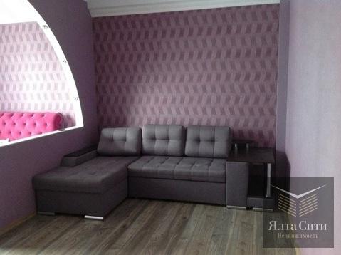 Просторная квартира с хорошим ремонтом в современном ЖК в Гурзуфе - Фото 4