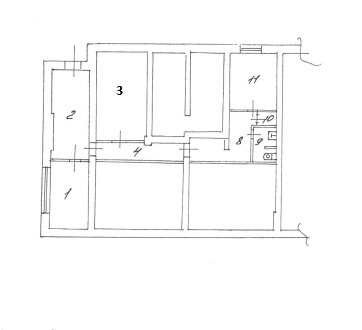 Офис 88,5 кв.м, 1 этаж, кабинетная система - Фото 4