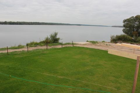 Участок 55 соток на 1-й линии р. Волга в д. Плоски - Фото 3