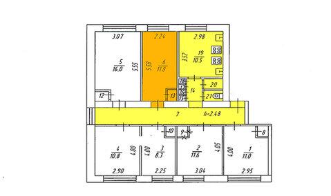Комната, Мурманск, Свердлова, Купить комнату в квартире Мурманска недорого, ID объекта - 700888216 - Фото 1