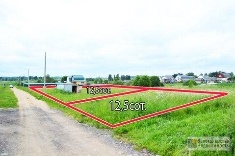 Участок 12,5 соток в селе Спас Волоколамского района